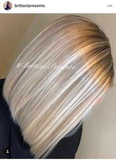 Hairstyle with blonde highlights – beige blonde balayage highlights haare Blonde Balayage Highlights, Balayage Hair, Light Blonde Highlights, Short Balayage, Highlighted Blonde Hair, Blonde Highlights With Lowlights, Chunky Highlights, Light Ash Blonde, Silver Highlights