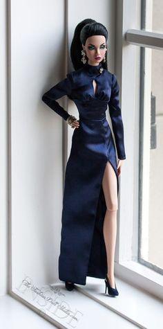 Brunette Mood Changer Poppy Parker ©2015 Inside The Fashion Doll Studio