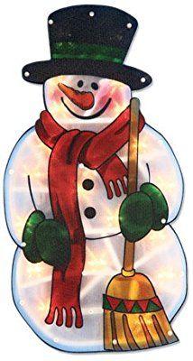 The Benross Christmas Workshop Schneemann-Silhouette, LED-beleuchtet, Metallic-Silhouette Christmas Time, Xmas, Christmas Ornaments, Led, Oak Corner Tv Unit, Workshop, Oak Sideboard, Leather Dining Chairs, Silhouette