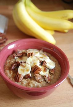 The Novice Chef » Skinny Wheat Germ Oatmeal