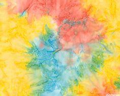 Multi - Bali Bliss Tropical Hand-Dye - Taffy Pastels