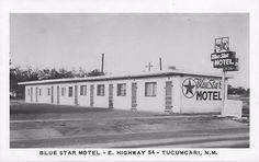 Blue Star Motel, Tucumcari, New Mexico, USA