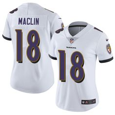 Nike Ravens Eric Weddle White Women's Stitched NFL Vapor Untouchable Limited Jersey And Devonta Freeman jersey Jeremy Maclin, Eric Weddle, Ravens Jersey, Devonta Freeman, Demaryius Thomas, Jason Witten, Jersey Outfit, Nhl Jerseys