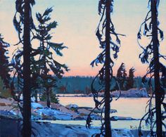 Sunset, LOTW is a painting created by Robert Genn in Find out more at Mayberry Fine Art. Canadian Painters, Canadian Artists, Landscape Art, Landscape Paintings, Beautiful Paintings, Small Paintings, Oil Paintings, Art Studies, Tree Art