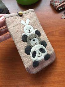 Sam's sewing life: 动物手机袋