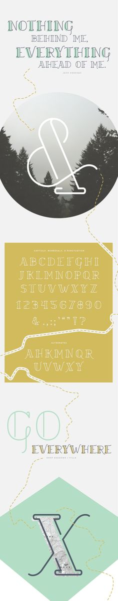 Trail Typeface - CAMP Design Group