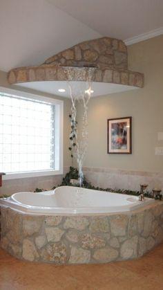 bäder ideen sehr tolles modell badewanne zwei sektionen ... | {Sechseck badewanne fliesen 88}