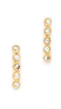 Jacquie Aiche JA CZ Earrings