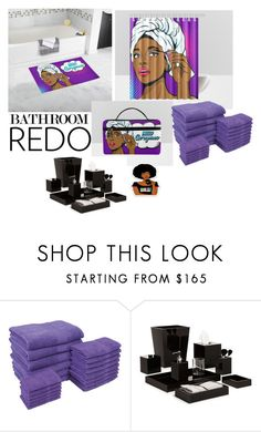 """""""Hello Gorgeous Bathroom Set"""" by shanieism on Polyvore featuring interior, interiors, interior design, home, home decor, interior decorating, Mike + Ally and bathroom"""
