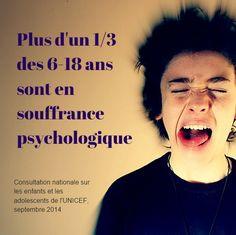 souffrance psychologique adolescents stress enfants