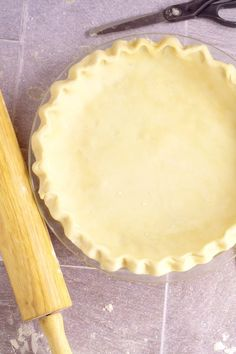 Rolling Out Pie Crust - No Fail Method and Recipe