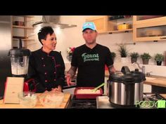 "Chef AJ cookin' with edgy IronMan John Joseph from the Cromags, his story and ""Kole's Creamy Cauliflower Soup"" 