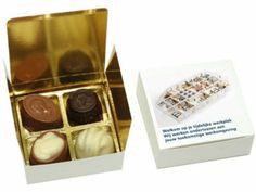 Luxe bonbons 4 st in geschenkdoosje