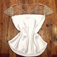 Barato Blusas Femininas Cetim E Tule mulheres Pérola malha Costura Chiffon Blusa Casual, Compro Qualidade Blusas diretamente de fornecedores da China: