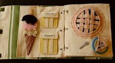 Image result for food quiet book