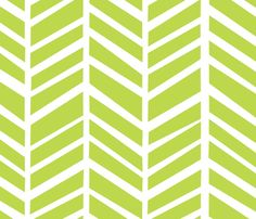 Herringbone Tender Shoots by @Friztin - @Spoonflower - Fabric / Wallpaper / Gift Wrap