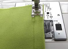 Knit fabric sewing techniques