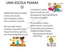 """A nossa escola, participa pelo terceiro ano no Dia Nacional do Pijama :)  """"   O que é o Dia Nacional do Pijama?   O Dia Nacional do Pijamaé..."""
