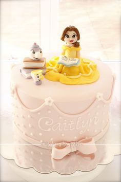 Princess Belle Cake - Beauty & the Beast This is talent! Pretty Cakes, Beautiful Cakes, Princess Belle Cake, Princess Party, Bake A Boo, Birthday Cake Girls, Birthday Cakes, Third Birthday, Birthday Ideas