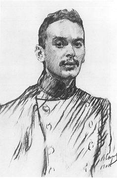 Валентин Серов 1865-1911 Портрет В. Мек 1901