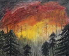 Wildfire by Stephanie Peters - www.stephartist.com