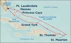 Eastern Caribbean on Emerald Princess. Oct 17th $649 interior cabin with onboard credit of $50