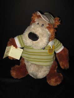 """PBC International Singing Animated 12"""" Bear sings """"When Your Smiling"""" with Tags #PBCINTERNATIONALINC"""