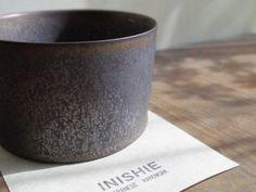 金黒筒深小鉢