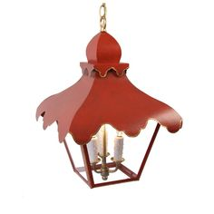 THE WELL APPOINTED HOUSE - The Tole Tent Lantern-Available in Three Different Sizes and Six Different Colors. Coleen & co