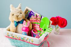 Adorable Garden-Inspired Easter Ideas for Kids ... *Less candy, more fun!