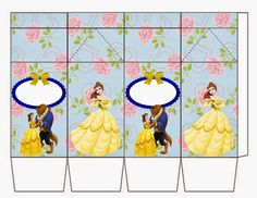Beauty and the Beast Milk Box