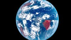 Satellite Photos Show The True Shape Of The Earth