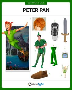 The best cosplay guide to fly into your next costume party dressed as Peter Pan, the young boy living in Neverland from the classic Disney animated movie.