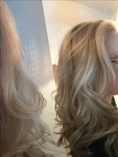 Ashblond hair styled by Nadire, Salong Najs, Stockholm