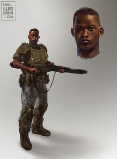Soldier by elgama on deviantART