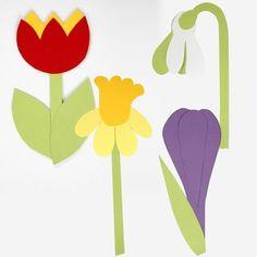 Kartonnen bloemen gemaakt met behulp van sjabloon - Creatieve activiteiten Easter Crafts, Diy And Crafts, Crafts For Kids, Arts And Crafts, Creative Company, Creative Workshop, Hama Beads, Kids And Parenting, Diy Design