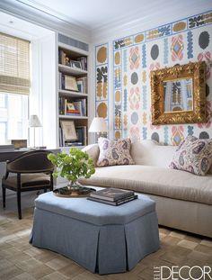Inside an Upper East Side Home that Trades Stuffiness for Neon-Hued Glamour - ELLEDecor.com