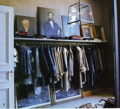 Stylish Closet Designs   Masculine