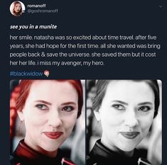 It took Natasha dying for people to respect and admire her! I know, not everyone waited to join the bandwagon. Some of us have been fans from the beginning. I'll miss you, Nat. Funny Marvel Memes, Marvel Jokes, Avengers Memes, Disney Marvel, Marvel Heroes, Marvel Avengers, Natasha Romanoff, Black Widow Natasha, Loki