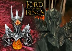 Lord of the Rings, Sauron, the Dark Lord of Mordor, printed, colured and finished. Dark Lord, Lord Of The Rings, The Darkest, 3d Printing, It Is Finished, Wreaths, Printed, Halloween, Decor
