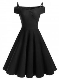GET $50 NOW | Join RoseGal: Get YOUR $50 NOW!https://www.rosegal.com/vintage-dresses/vintage-cold-shoulder-pin-up-1353975.html?seid=5957462rg1353975