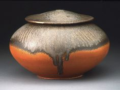 X  Bede Clark--Lidded Jar--2006