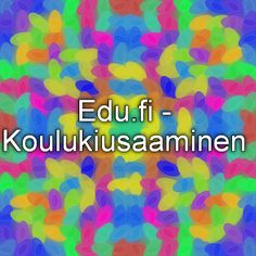 Edu.fi - Koulukiusaaminen Social Skills, School, Blog, Teacher Stuff, Classroom Ideas, Schools