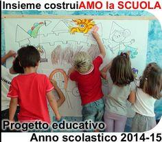 """Disponibile nel sito web della scuola, il """"Progetto Educativo a.s. 2014/2015"""""""