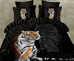Cotton Queen Size 3d Print Bedding Set