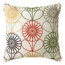Wilko Floral Cushion