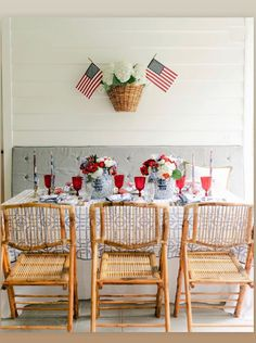 4th of July tabletop decor ideas Equestrian Collections, Linen Napkins, Table Linens, Home Textile, Pomegranate, Home Accessories, Make It Simple, 4th Of July, Southern Charm