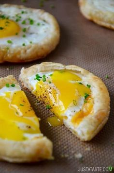 It's no yolk; these are super easy. Get the recipe here.