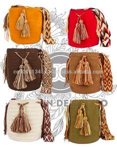 Genuino sólido del bolso mochila wayuu por jardin del cielo (desierto)