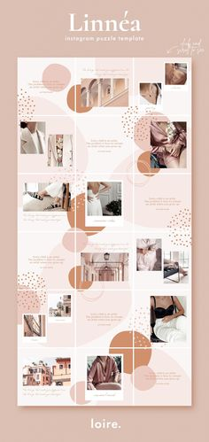 Discover recipes, home ideas, style inspiration and other ideas to try. Instagram Design, Layout Do Instagram, Canva Instagram, Feed Do Instagram, Instagram Collage, Insta Layout, Instagram Grid, Pink Instagram, Instagram Post Template